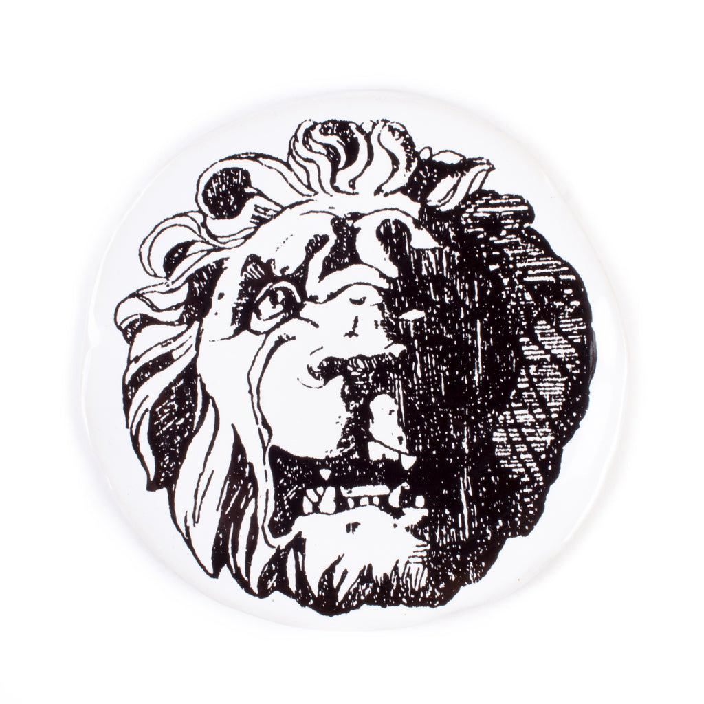 Kuhn Keramik Lion Face Very Small Plate