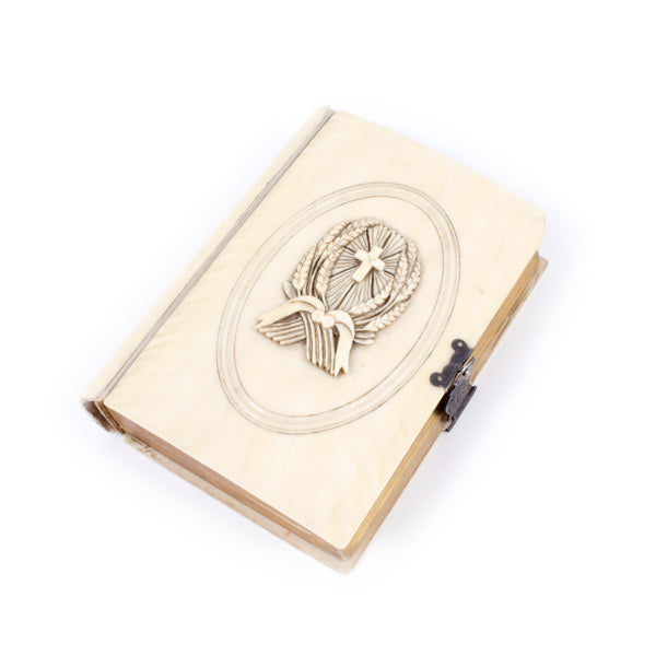 Antique Devotional with Ivory Cover found in Paris, France