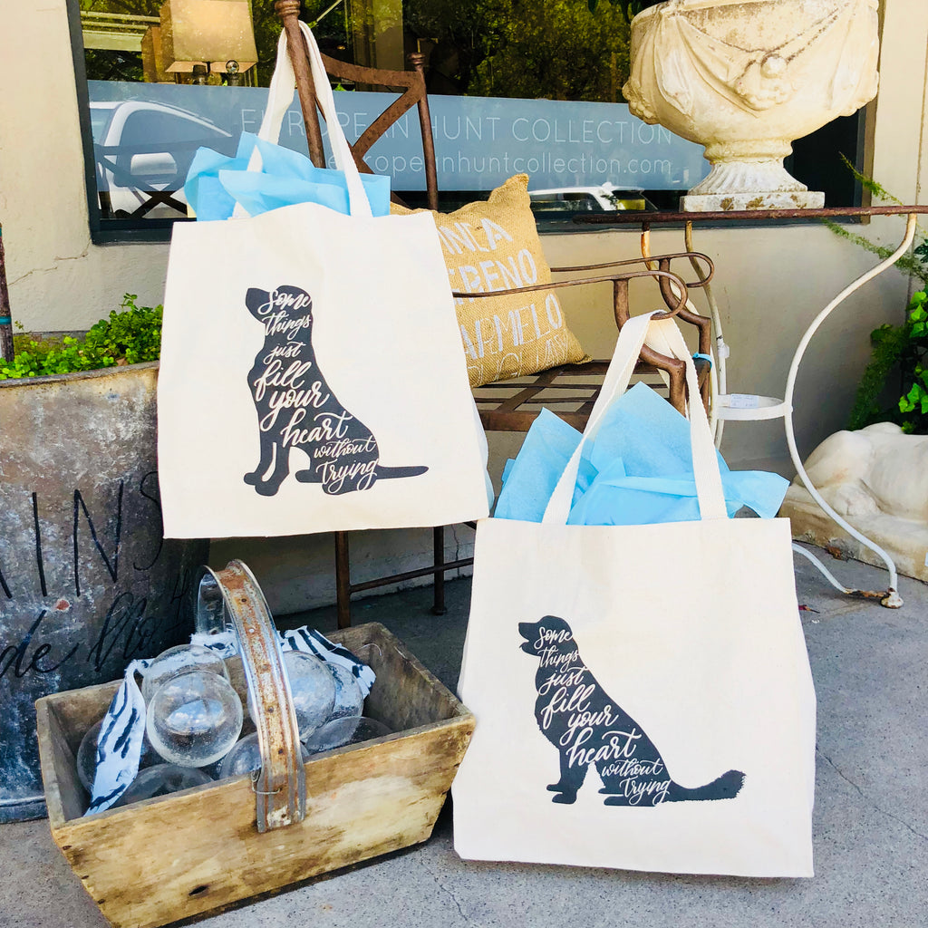 Give Back: Canvas Dog Tote