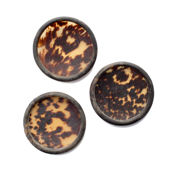 Antique Tortoise Shell Trinket Dishes found in Sri Lanka