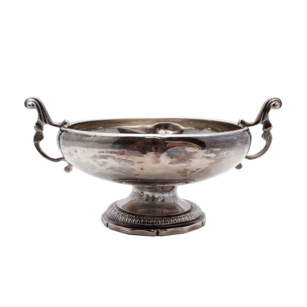 Antique French Sterling Coupe de Marriage Bowl from 1840