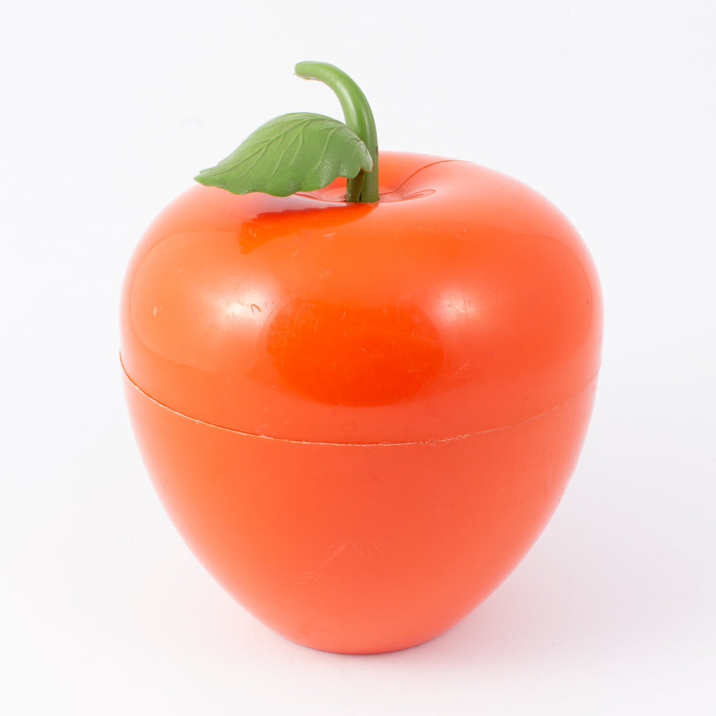 Vintage Orange Apple Insulated Ice Bucket found in France