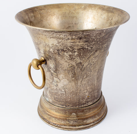 Vintage Two-Tone Silver-plate Ice Bucket found in France