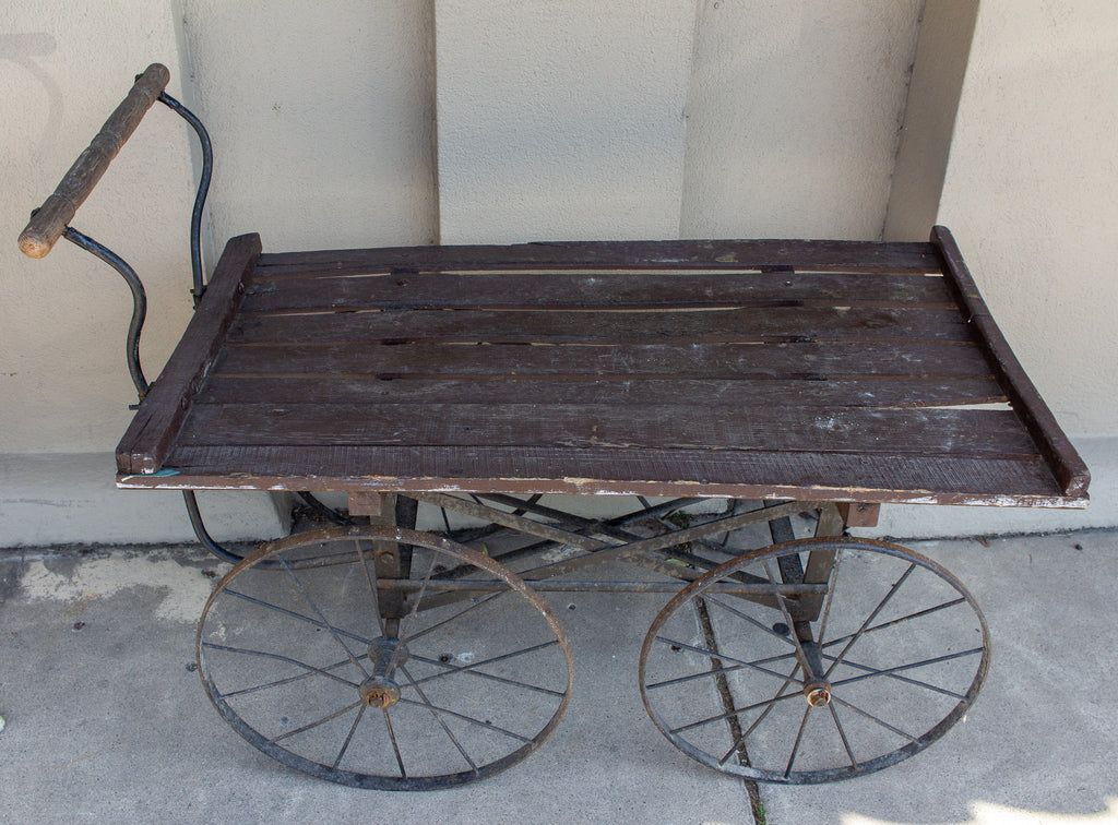 Antique French Vineyard Cart
