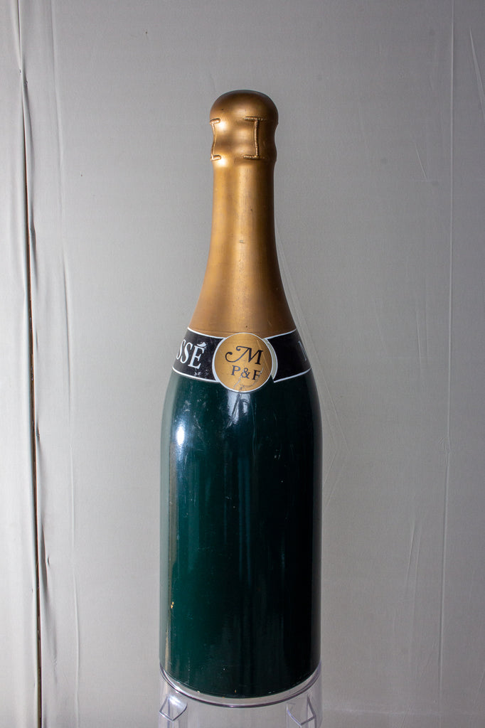 Vintage French Oversized Champagne Massé Bottle Prop