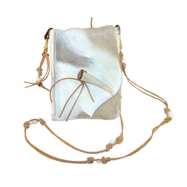 Cross-body Springbok Antelope Bag