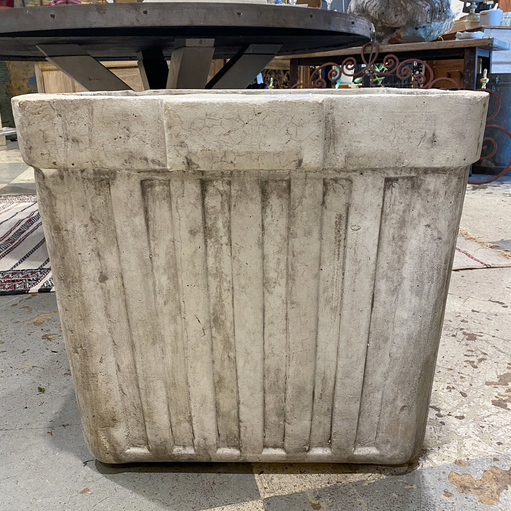 Handmade Willy Guhl Inspired Cast Stone Planter | Made to Order