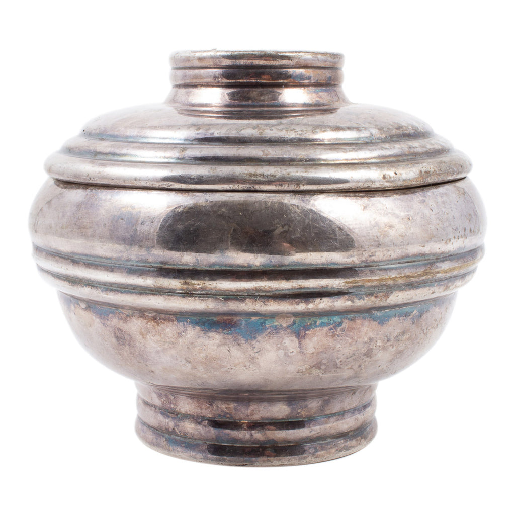 Vintage Silverplate Container found in France