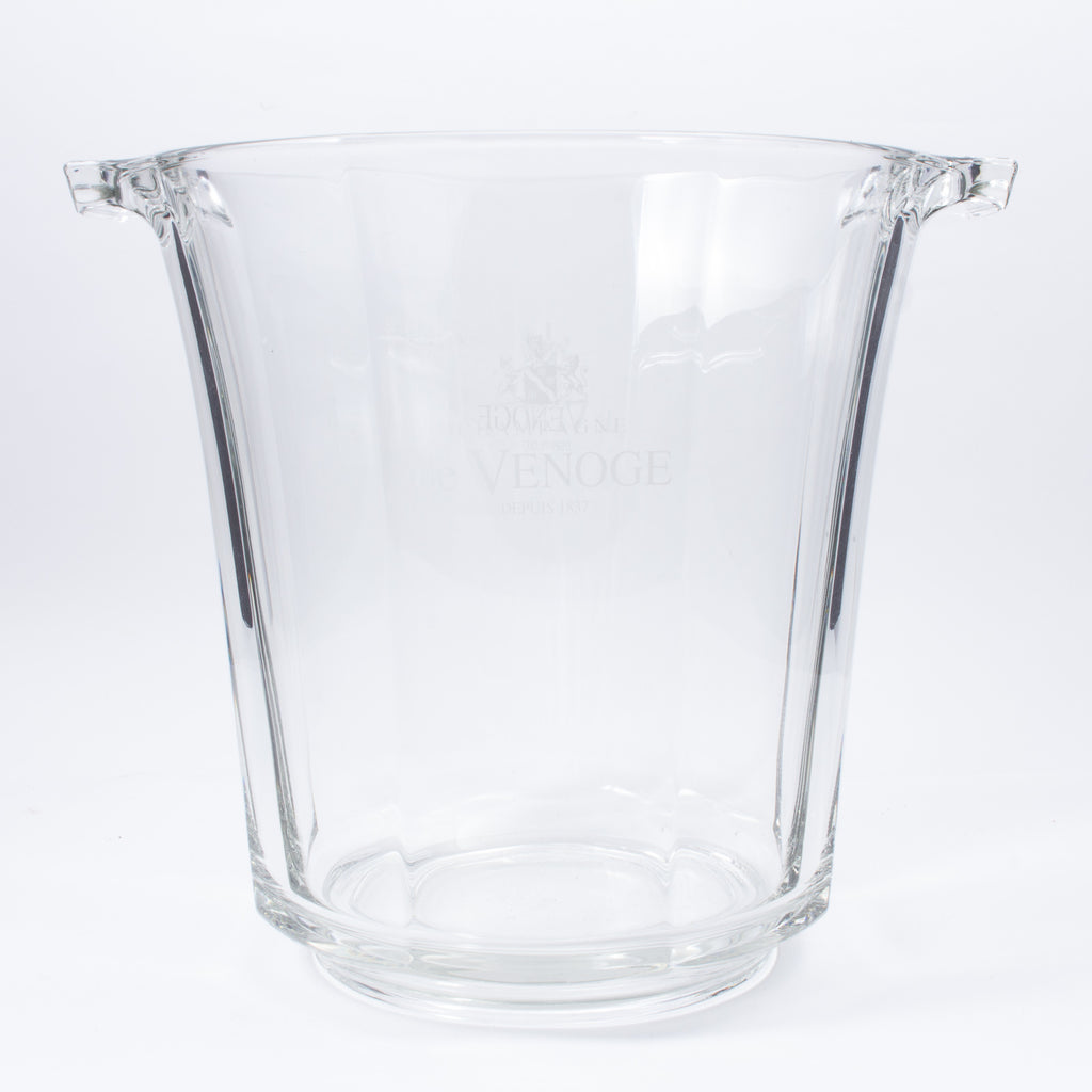 Vintage 1960s Glass de Venoge Champagne Bucket found in France