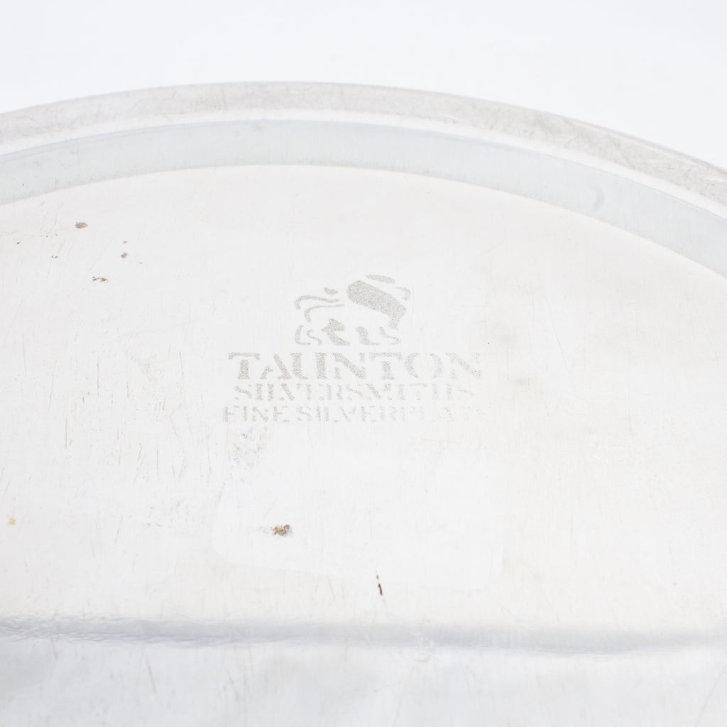 Vintage Taunton Silversmiths Wine Coaster from the 1970s