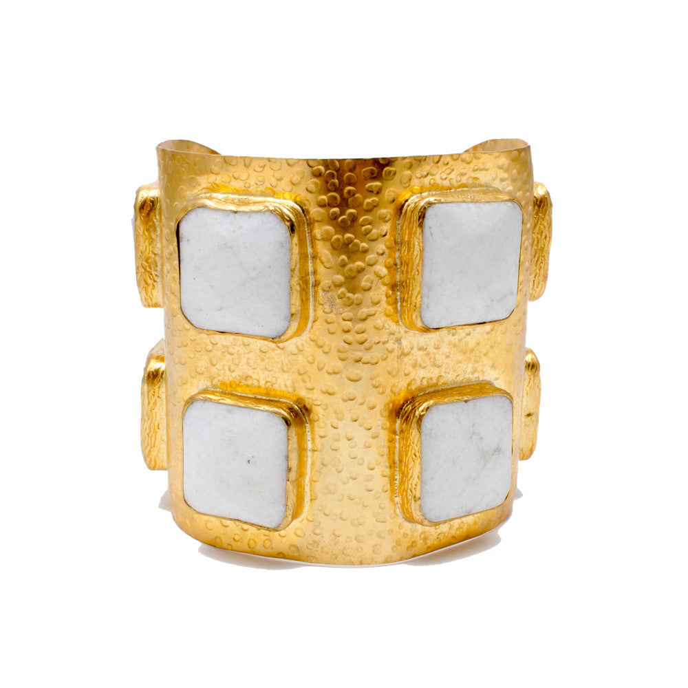 Calcite Stone Large Cuff from Istanbul