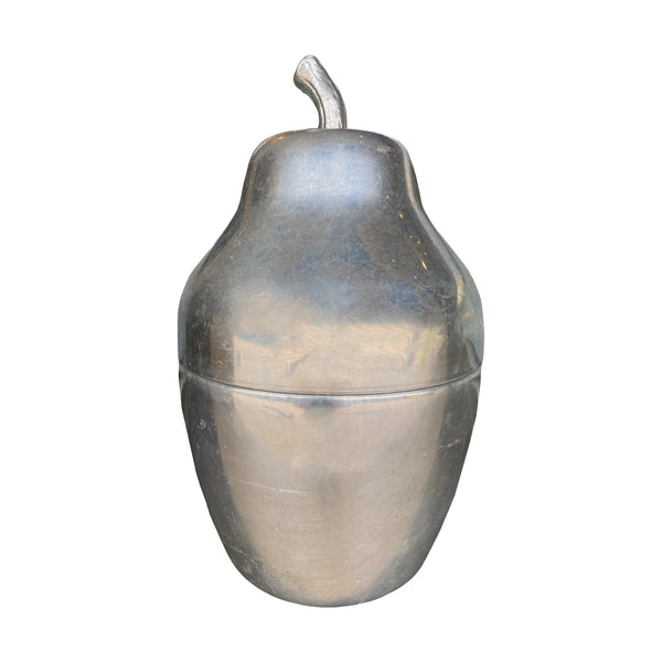 Mid-Century Italian Insulated Pear Shaped Ice Holder