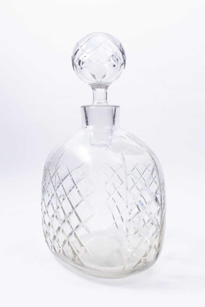 Vintage Bayel Hand-Cut Leaded Crystal Decanter found in France