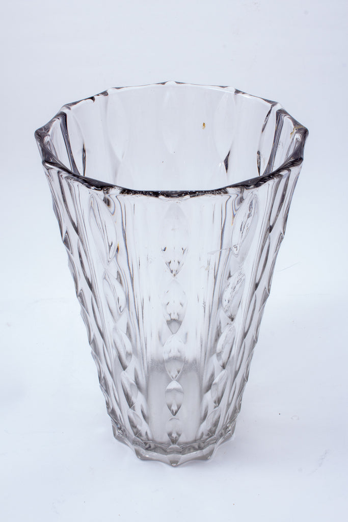 Vintage Cut Glass Vase found in France