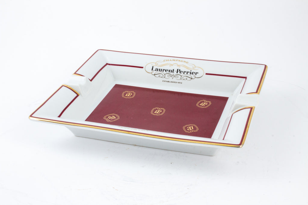 Vintage French Laurent-Perrier Ashtray