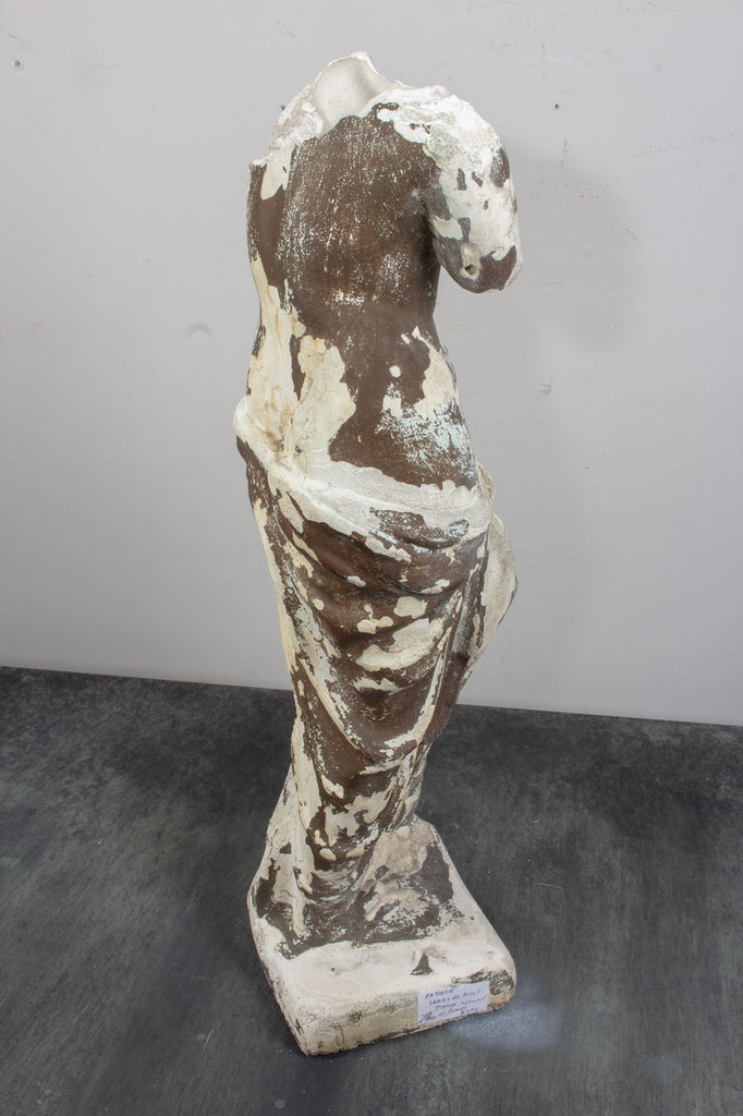 1930s Plaster Venus de Milo Sculpture found in France