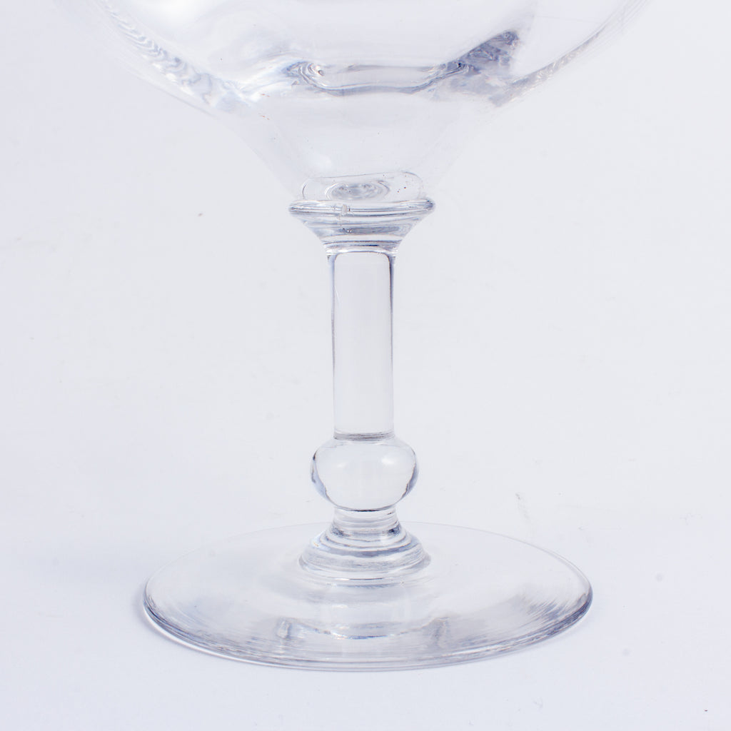 Set of 10 Antique French Champagne Coupes