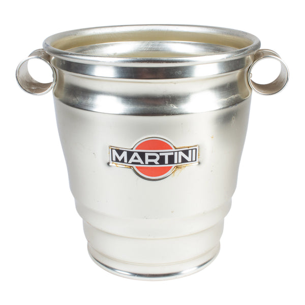Vintage Italian Metal Martini Brand Ice Bucket
