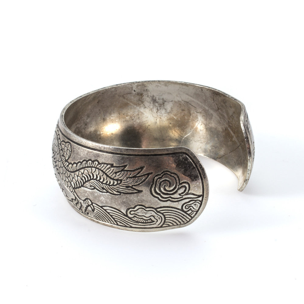 Cambodian Metal Dragon Cuff