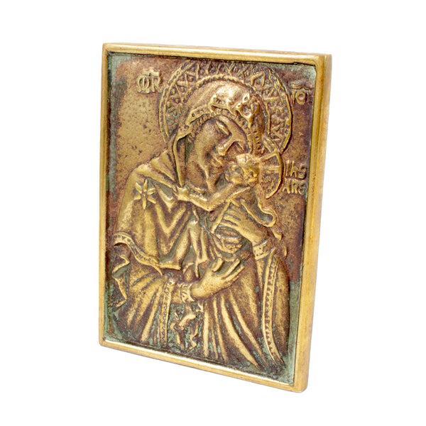 Small Max Le Verrier Bronze Devotional found in France