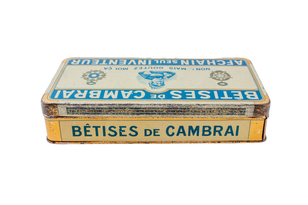 Vintage Cookie Tin found in France