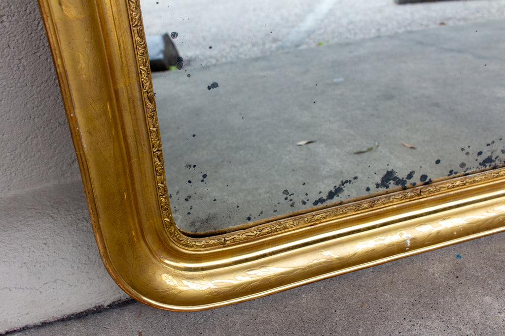 Antique French Gilt Louis Philippe Mirror
