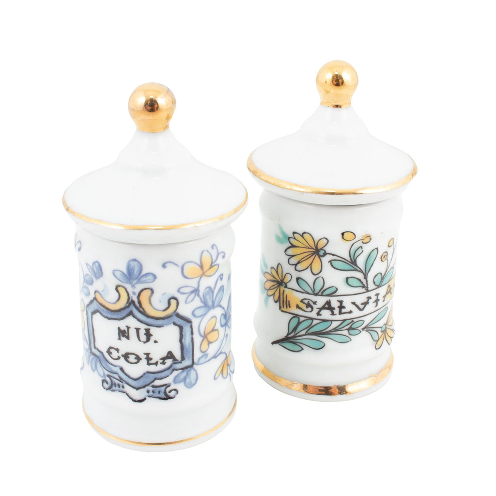 Miniature Royal Kent Apothecary Jars found in France