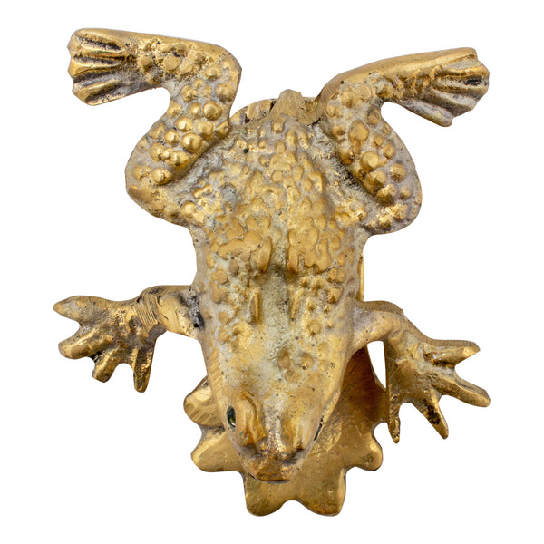 Brass Frog Door Knocker from San Miguel