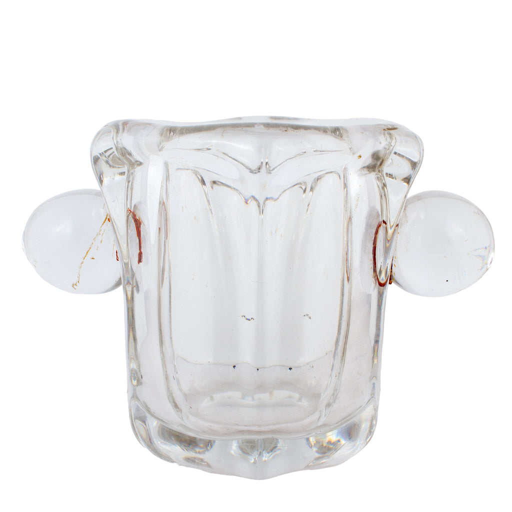 Vintage French Crystal Ice Holder
