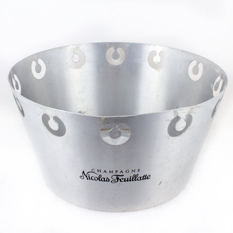 Vintage French Aluminum Champagne Bowl - Nicolas Feuillatte