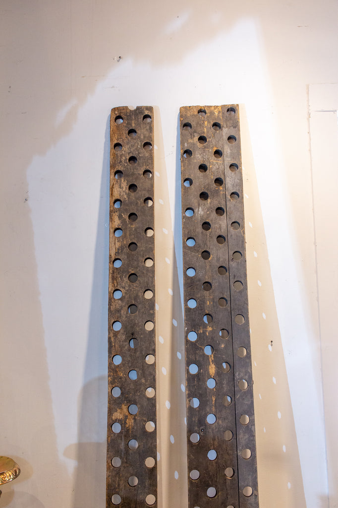 Antique French Riddling Racks, Pair Available