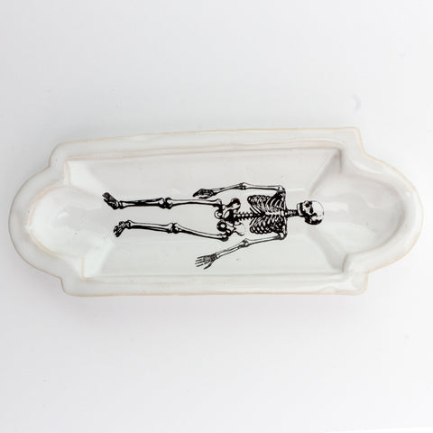 Kühn Keramik Long Asher Tray - Skeleton