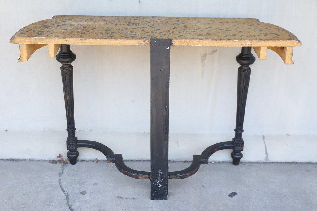 Antique French Louis XVI Painted Console, circa 1880