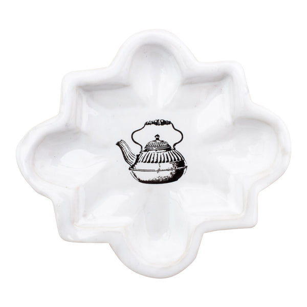 Kühn Keramik Small Asher Tray - Tea Kettle