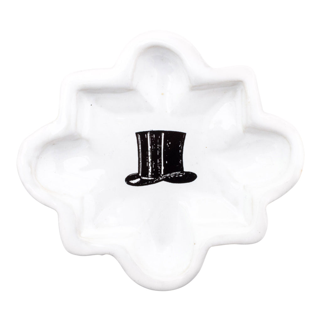Kühn Keramik Small Asher Tray - Top Hat