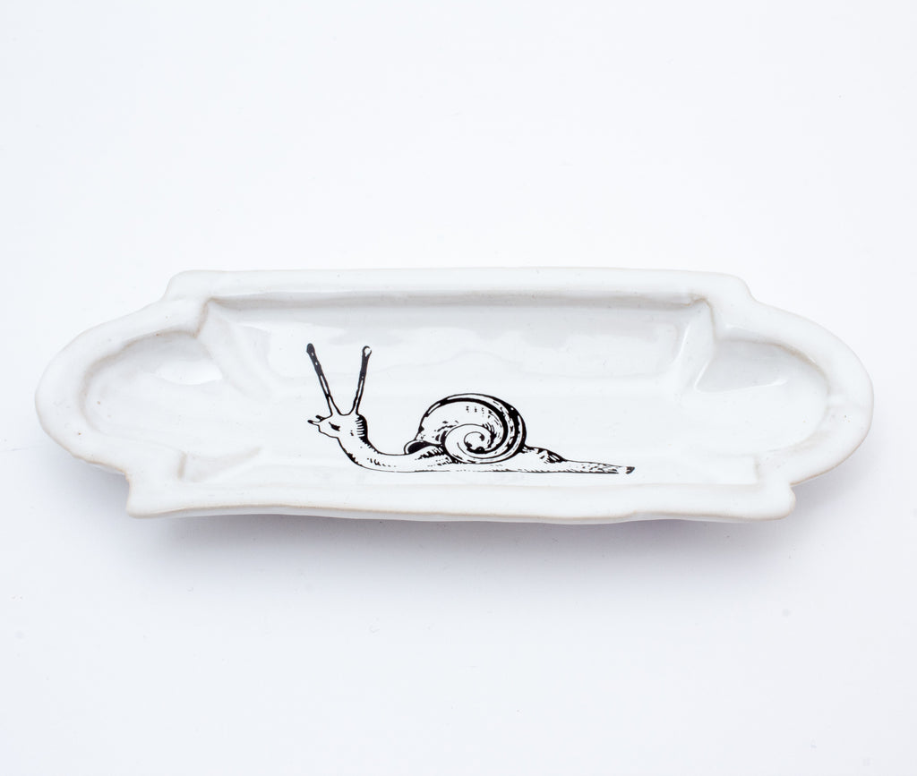 Kühn Keramik Long Asher Tray - Snail
