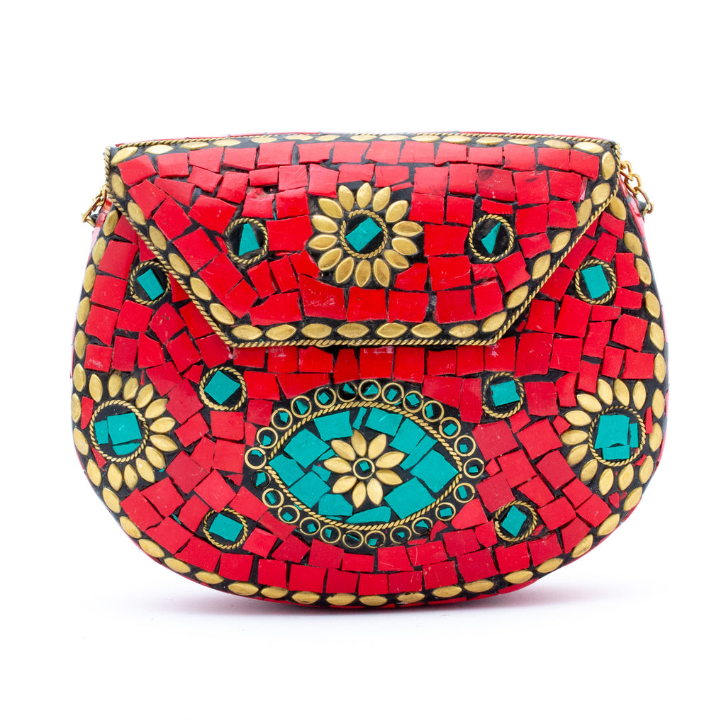 Large Himalayan Stone Clutches | More Colors Available