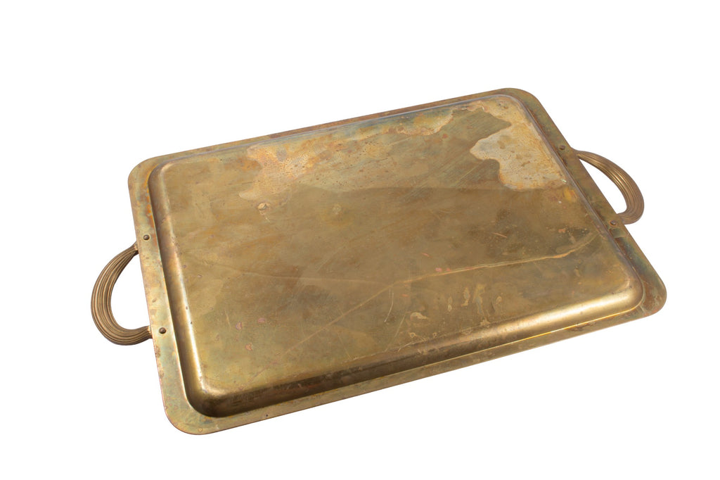 Antique French Christofle Serving Tray found in Paris