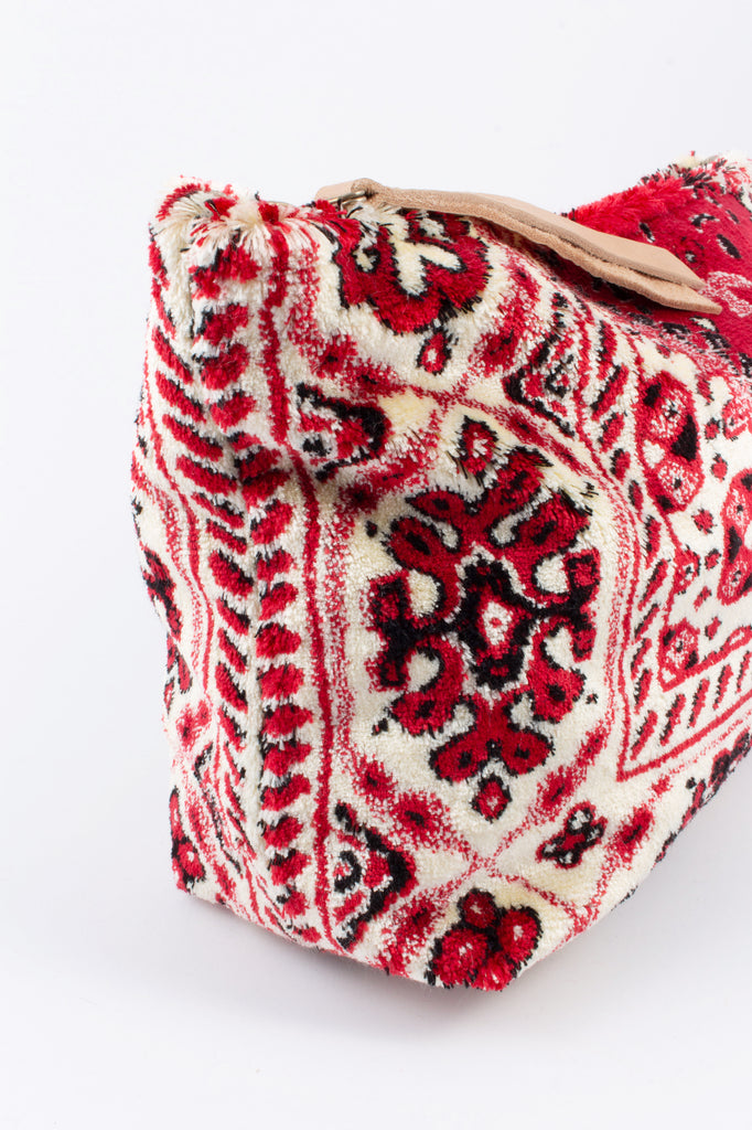 Handmade Lalla Large Walakin Carpet Clutch from Marrakech