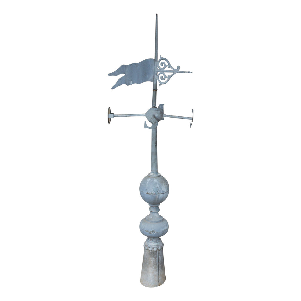 Antique French Zinc Weathervane Finial ca. 1800s