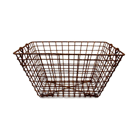 Mid-Century French Oyster Baskets