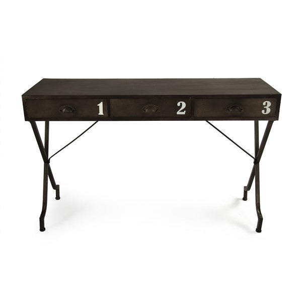 Iron Wall Console Table