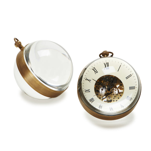 Omega Small Crystal Orb Clock