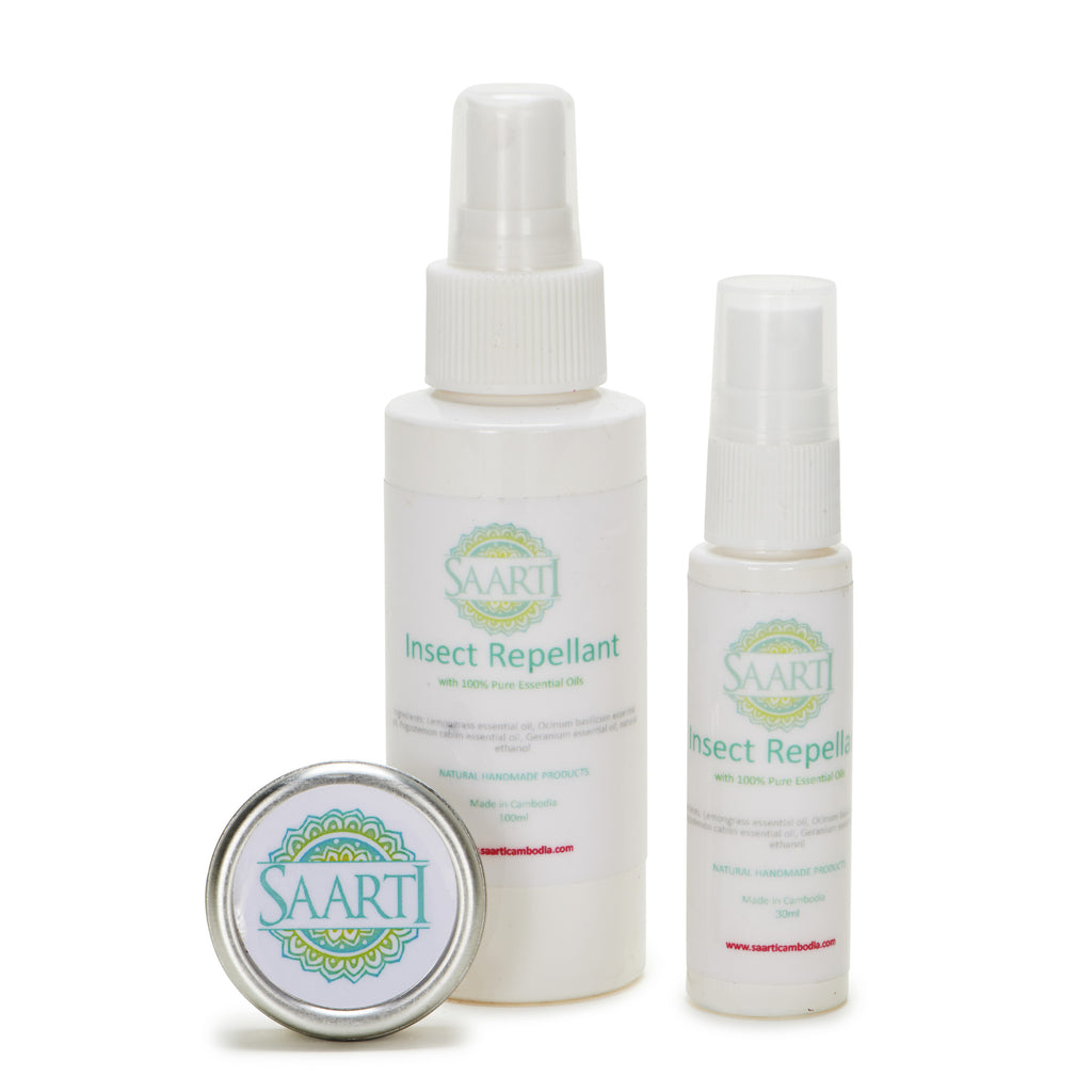 Saarti Natural Lemongrass Insect Repellants