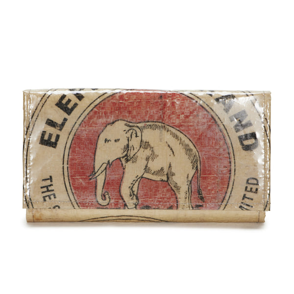 Recycled Elephant Cement Bag Clutch