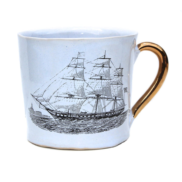Kuhn Keramik Large Ship Mug