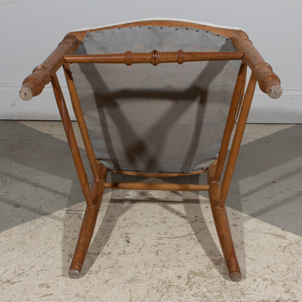 Antique French Carved Wood Dining Chair | Pair Available