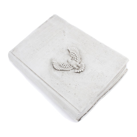 Cast Stone Book - Large Book of Knowledge