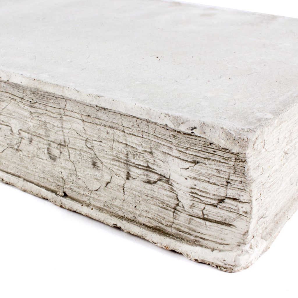 Cast Stone Book - Large