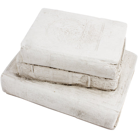 Cast Stone Book - Stack of Books